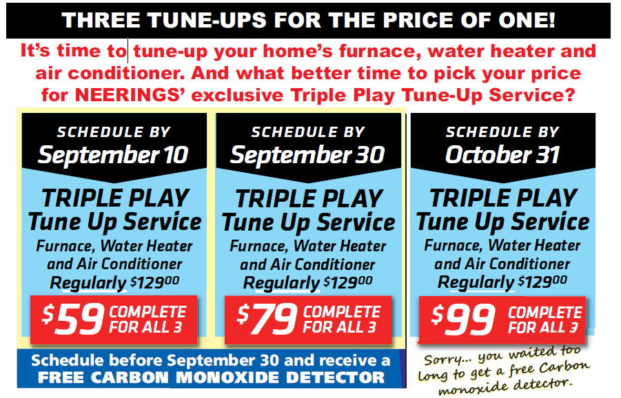 Triple Play Tune Up